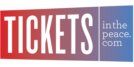 Tickets In The Peace Logo